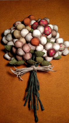 Little Bouquets of Prim Flowers by ToBeThankful on Etsy