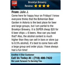 Come here for happy hour on Fridays! I know everyone thinks that the Bohemian Beer Garden...