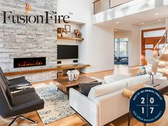 Available Fall 2017  Modern Flames introduces the FusionFire™ Steam Fireplace, the next step in the company's revolutionary line of innovative fireplace products. Modern Flames harness the power of commercial...