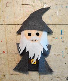 Gandalf the Grey Felt Plushie