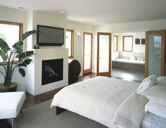 50 Bedroom Fireplace Ideas: Fill Your Nights With Warmth And Romance!   Bedroom  Fireplace, Romance And Bedrooms