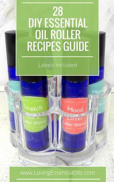 Recipes For Essential Oil Roller Bottles
