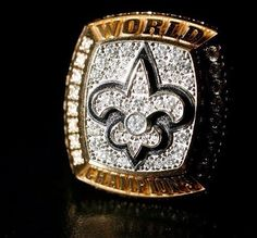 Saints Superbowl Ring. looks like we will have another one of these!!!