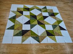 Gecko Quilt - The Nifty Stitcher