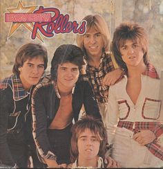 This is Bay City Rollers Wouldn't You Like It Import vinyl record album. The pictures are of the album cover. It is recorded on Bell Record Label #SYBEL-8002 in 1975. There are play marks and scratche