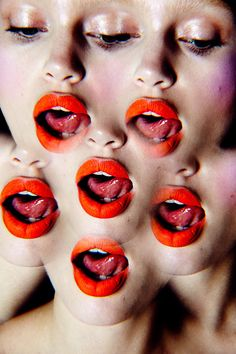 Staz Lindes Multi-Colored Duo Tone Lips Abstract Glitter Ombre Macro Makeup   NEW YORK FASHION BEAUTY PHOTOGRAPHER- EDITORIAL COMMERCIAL ADVERTISING PHOTOGRAPHY