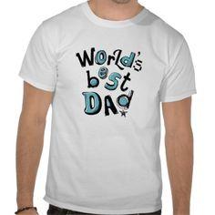 Worlds Best Dad Tee Shirt