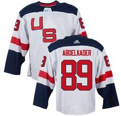 Mens 2016 World Cup of Hockey Team USA James van Riemsdyk White Jersey on  sale for Cheap a53916a7e