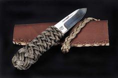 Couteau Neptunia : poignard marin M4 tressage spécial Moonbeam IV