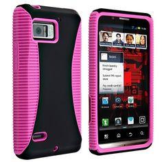 Hybrid Case for Motorola Droid Bionic XT875, Hot Pink TPU / Black Hard by eForCity. $3.99. http://onemoment4u.org/showme/dpjid/Bj0i0d7y4r1jIeBn6tIk.html
