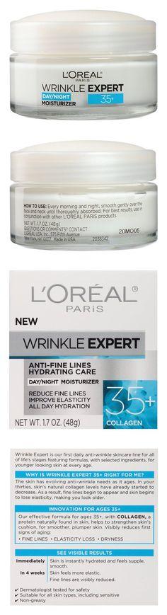 L'Oreal Paris Skin Care Wrinkle Expert 35 Plus Moisturizer #beauty #lorealparis