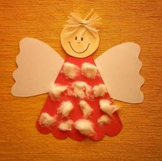 andílek Easy Christmas Ornaments, Diy Christmas Decorations Easy, Christmas Crafts For Kids To Make, Christmas Activities For Kids, Homemade Christmas, Christmas Projects, Kids Christmas, Christmas Characters, Theme Noel