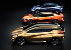 Nissan Friend-ME, Sport Sedan and Resonance Concept Cars