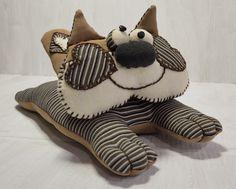 #wystrój  #rękodzieło  #ozdoby #handmade  #falbana.pl  #zwierzak #maskotka  #przytulanka  #kot #kotek