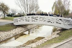 The Institute for Advanced Architecture of Catalonia has designed the first 3D printed bri...