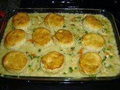 2013 recipes: Homemade Chicken Stew With Biscuits