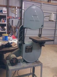 My 1980s Delta 14 Band Saw Model 28 243s New Tires