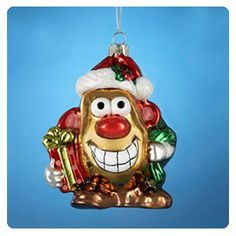 Mr. Potato Head in the housz (or on the tree)