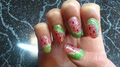 watermelons! Class Ring, Nail Art, Nails, Jewelry, Jewellery Making, Ongles, Finger Nails, Jewelery, Jewlery