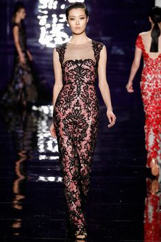 Reem Acra Fall 2014 Ready-to-Wear Fashion Show Collection