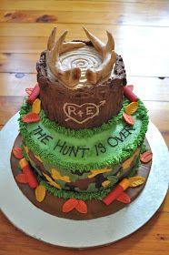 Dani Cakes: Hunting Groom's Cake