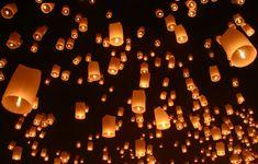 Yee Peng Floating Lantern Festival, Chiang Mai, Thailand