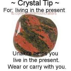 Crystal Tip - Living in the Present