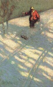 Skiing - small x 10 inches**all sizes are approximate Image credit:J. Macdonald, 1873 - x cmPurchase Canadian Art Group Of Seven, Canadian Artists, Art Oil, Skiing, Gallery, Image, Winter, Ski, Winter Time