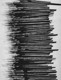 "Roman Opalka ""le fini défini par le non fini"" Dots To Lines, Modern Art, Contemporary Art, Scratch Art, Textured Carpet, Mark Making, The Real World, Texture Art, Art Blog"