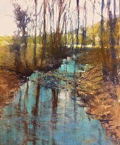 Hidden Creek by Camille Day Pastel ~ 20 x 16