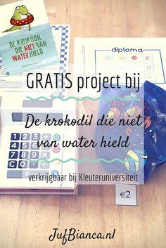 Een gratis project bij het prentenboek De krokodil die niet van water hield, te downloaden bij Kleuteruniversiteit. De ideale manier om eens iets van mij uit te proberen! - JufBianca.nl