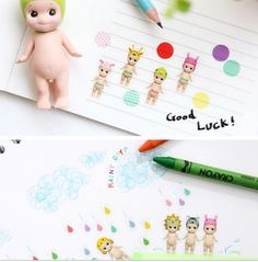 6 Kewpie doll sticker sonny angel cute baby doll sticker set girls study planner sticker Alphabet numbers sticker index label diary gift by StickersKingdom on Etsy https://www.etsy.com/listing/272675260/6-kewpie-doll-sticker-sonny-angel-cute