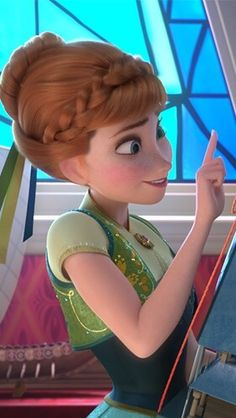 Anna from Frozen Anna Frozen, Frozen Disney, Princesa Disney Frozen, Frozen Film, Frozen 2013, Disney And Dreamworks, Disney Pixar, Walt Disney, Anna Disney