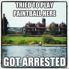 I love 10 Things I Hate About You! Wish you could do paintball here...