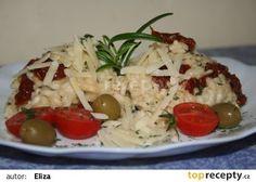 Italské krémové rizoto se sušenými rajčaty recept - TopRecepty.cz