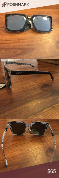 Quay Australia Genesis sunglasses NEW WITH TAGS! Quay Australia Genesis sunglasses is black with green lens Quay Australia Accessories Glasses