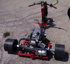 fat axle, custom pipe, custom backrest, custom bars, Go Karts, Bike Drift, Drift Trike Motorized, Custom Trikes, Kids Ride On, Small Engine, Mini Bike, Street Bikes, Bike Design