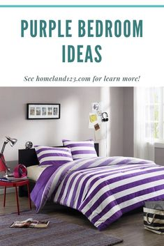 Innovative of Purple Bedroom How To Make Purple, Purple Bedrooms, Comforters, Bedroom Ideas, Innovation, Popular, Blanket, Awesome, Unique