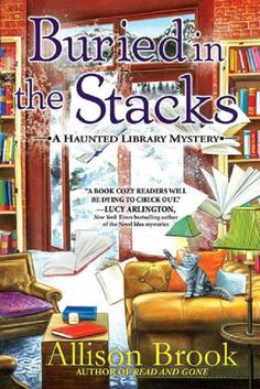 Book Review: Buried in the Stacks by Allison Brook