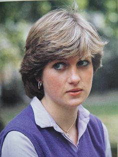 Lady Diana Spencer 1980 - working at the kindergarten prior to her engagement