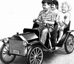 Make a Sidewalk Electric Car Plans - battery powered