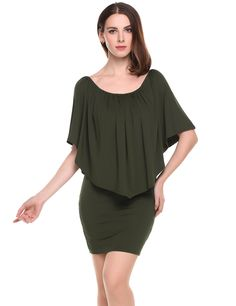 Black Off the Shoulder Solid Ruffle Bodycon Mini Dress