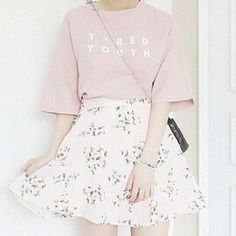 Feminine Korean Fashion Outfit