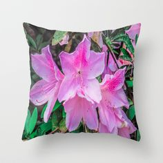 Pink Flowers pillow #mothersday