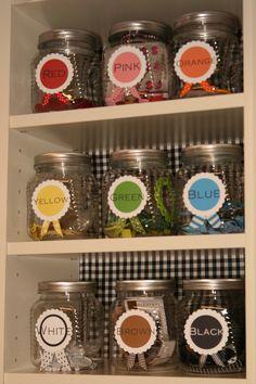 Cute Jar Storage