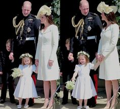 The Cambridges after the wedding of Prince Harry and Meghan Markle at St George's Chapel at Windsor Castle on May 19, 2018 in Windsor,…