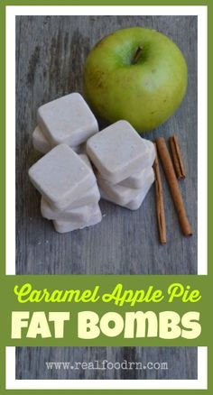 Who doesn't love a good fat bomb?! Especially when it tastes like caramel apple pie! These little treats are full of appetite satiating healthy fats, and are great for curbing those sweet cravings! Perfect flavors for the quickly approaching fall!