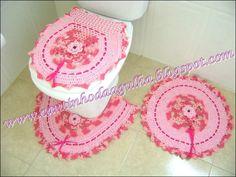CROCHE COM RECEITAS: Tapetes de croche by Edinir-Croche