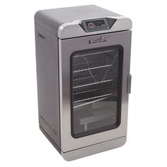 Char-Broil Digital 750-Watt Black/Silver Electric Vertical Smoker with SmartChef Technology (Common: 32-in; Actual: 32.5-in)