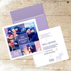 Weihnachtskarte 827 quadratisch als Collage für eigene Fotos Polaroid Film, Collage, Photos, Love Girlfriend, Weddings, Gifts, Nice Asses, Collage Art, Collages